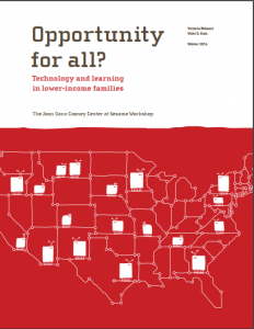 Opportunity for All report cover